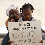 KLRU inspires me to ... to help others