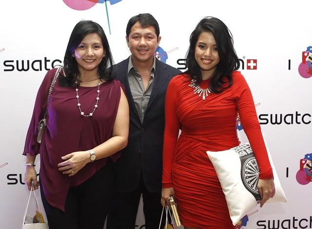 Milette, Miguel and Regina Belmonte