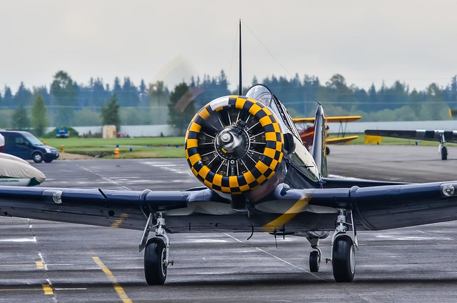 North American T-6A Texan taxi