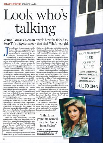 Radio Times 2012-03-12 Jenna Louise Coleman 1