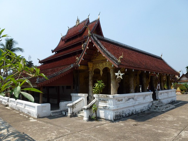 One of the many temples in the town