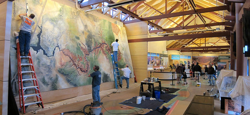 Grand Canyon Nat Park: Visitor Center Exhibit Installation 2643