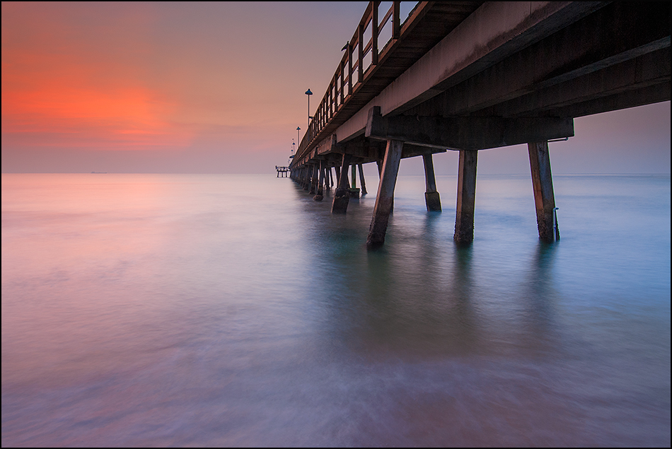Pompano Beach Fishing Pier at Ft Lauderdale, Florida