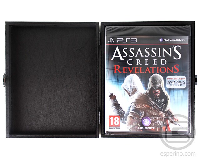Assassin's Creed Revelations Black Edition Unboxing