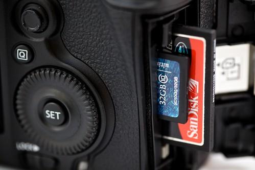 Dual Memory Card Slots