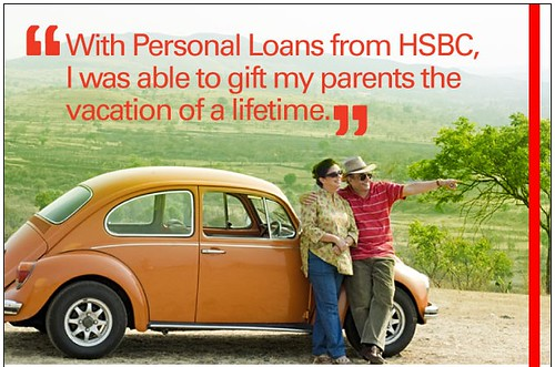 Image of an ad from HSBC