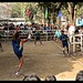 Footvolley, with a smaller ball-Kachin State, Myanmar