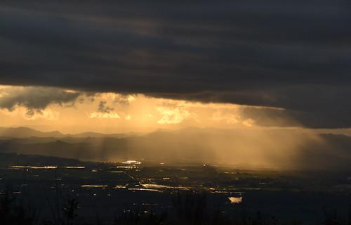 sunset clouds oregon nikon d3100