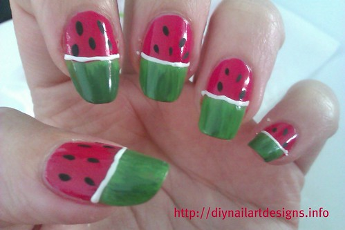 Flower nail designs diy