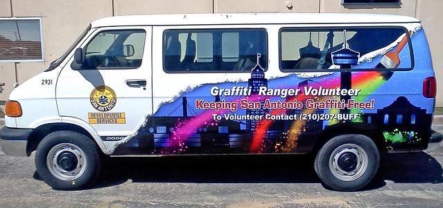 COSA Graffiti Ranger Wrap