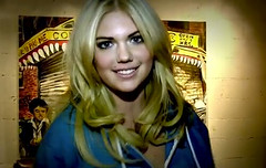Kate Upton Gets Down with Bleacher Report