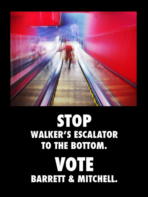 Stop Walker's Escalator to the Bottom