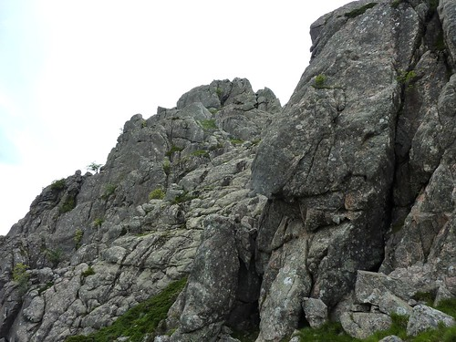 Col Nord bis de  Punta di Quercitella : versant E de montée