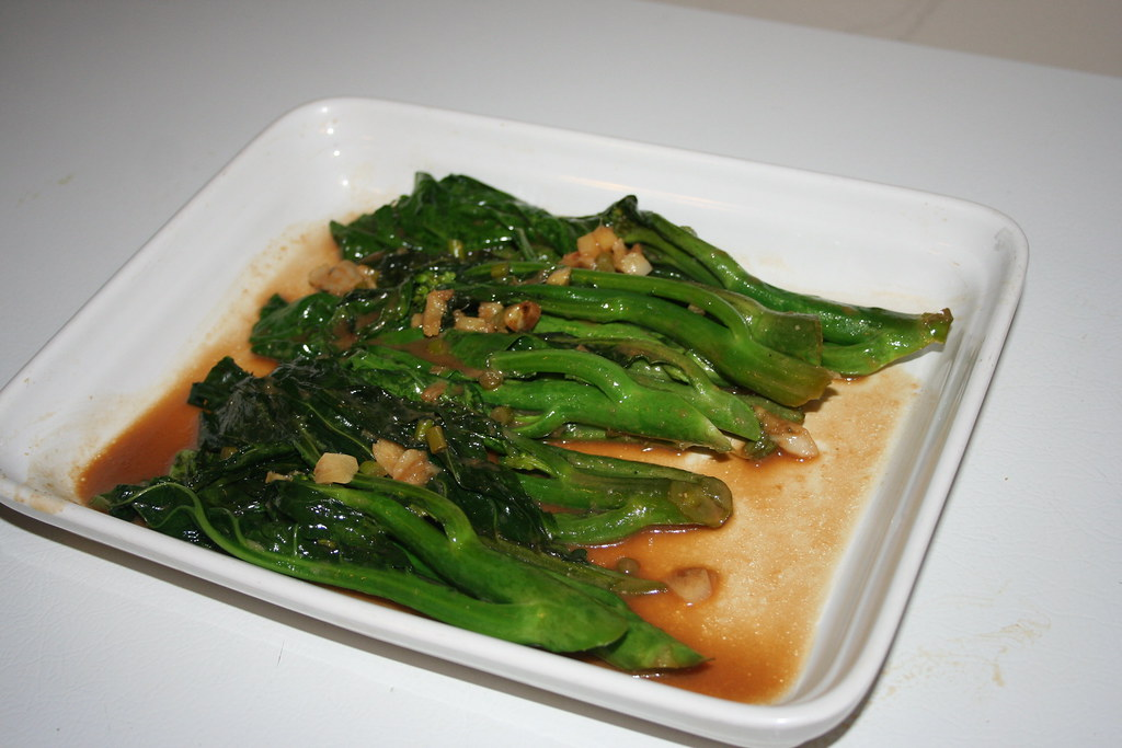 Braised Chinese Broccoli in Miso Sauce | Confident Cook, Hesitant ...