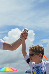 Surfers For #Autism 2011- Hands Across the Sand