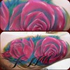 rose tattoo Inner arm tattoo
