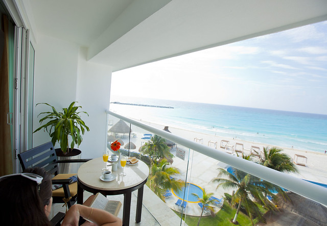 Krystal Cancun - balcony view