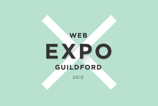 An image of the Web Expo Guildford logo