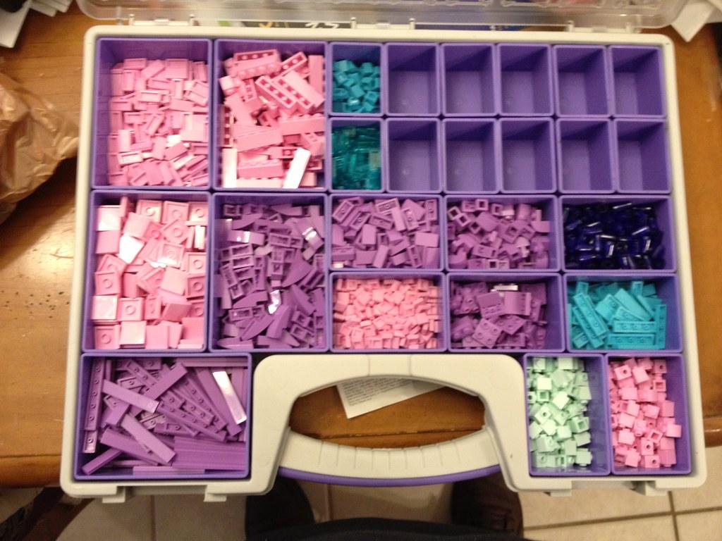 Erika's Box: Pink, Purple, Teal