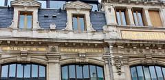 Montpellier, façades.