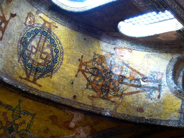 Istanbul - avril 2012 - jour 5 - 023 - Sainte-Sophie (Ayasofya Cami Müzesi)