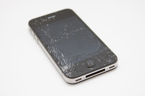 iPhone 4G - broken screen