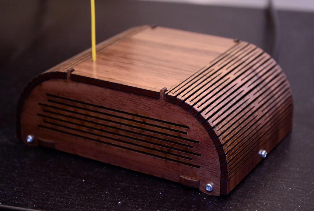 Exquisite Laser-Cut Project Box