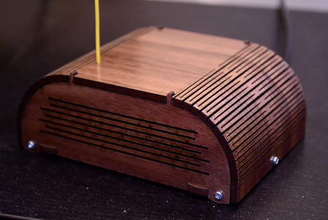 Arduino radio enclosure