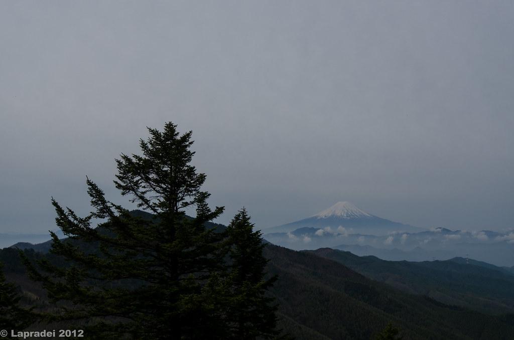 富士見平より