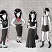girl gang by olivia mew
