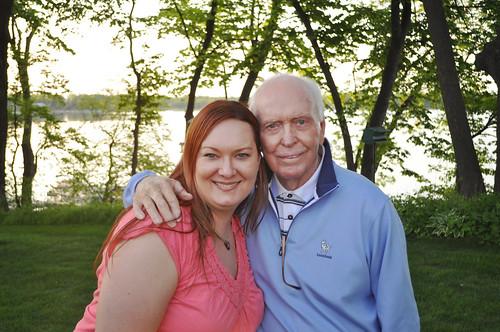 Kristi and Gramp May 2012