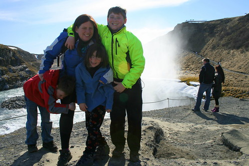 Family Adventure Project at Gullfoss, Iceland