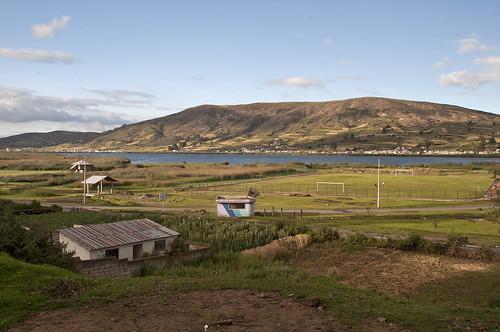 de ecuador laguna provincia paesaggi chimborazo colta cajabamba