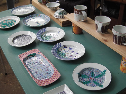 手描き絵皿