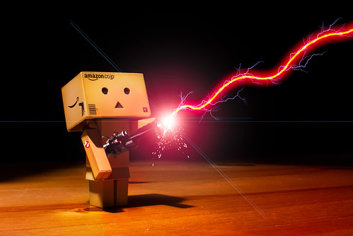 day 238 - danbo ain't 'fraid a no ghost