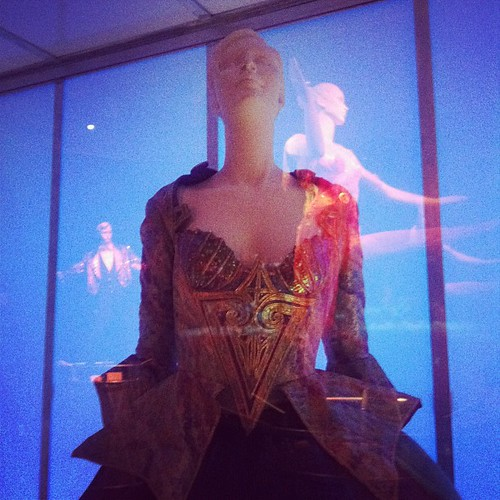 The Ringling Museum is giving me a lot of McQueen exhibit realness. Or the opposite?