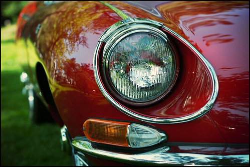 E-Type in red