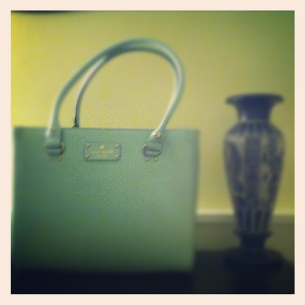 My cute new #katespade purse!!!