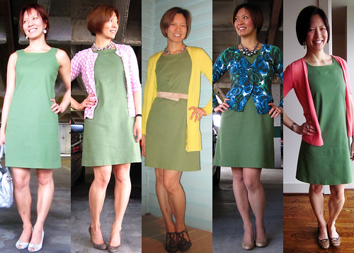 green sheath dress 01