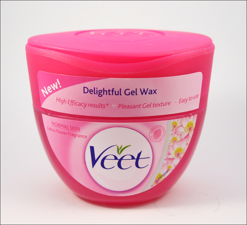 veet delightful gel wax