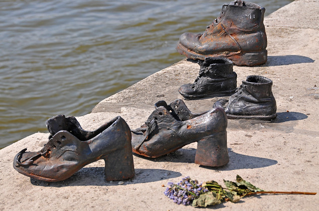 Hungary-0036 - Shoes on the Danube from Flickr via Wylio