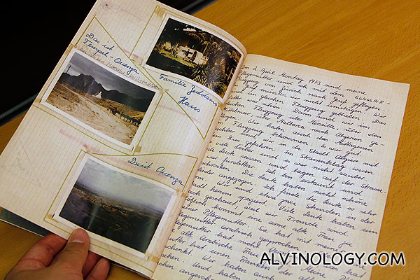 A journal documenting her trip back to Algeria to trace her birth parents and her roots