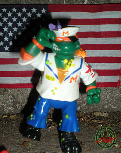 Mutant Military  TEENAGE MUTANT NINJA TURTLES ::  MIDSHIPMAN MIKE ix (( 1991 ))