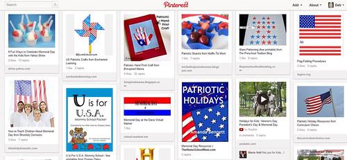 Kids' Patriotic Activities Pinterest Board