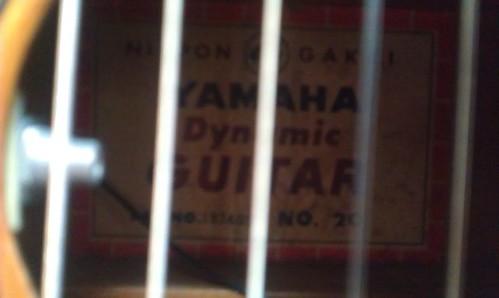 Yamaha Dynamic Guitar by Kanda Mori