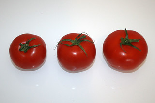 03 - Zutat Tomaten / Ingredient tomatoes