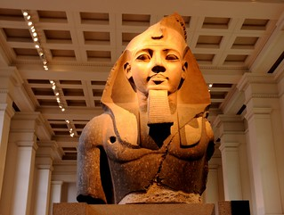 Face of Royalty.. Egyptian Remains