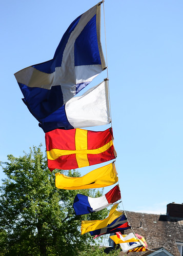 Nautical flags by Ali Crehan