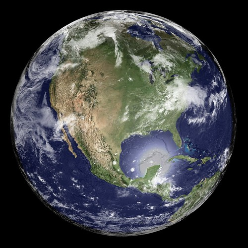 Earth - Global Elevation Model with Satellite Imagery
