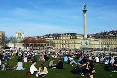 Stuttgart Schlossplatz 'Castle Square'